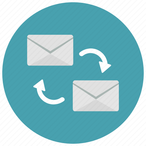 envelope, exchange, messages icon