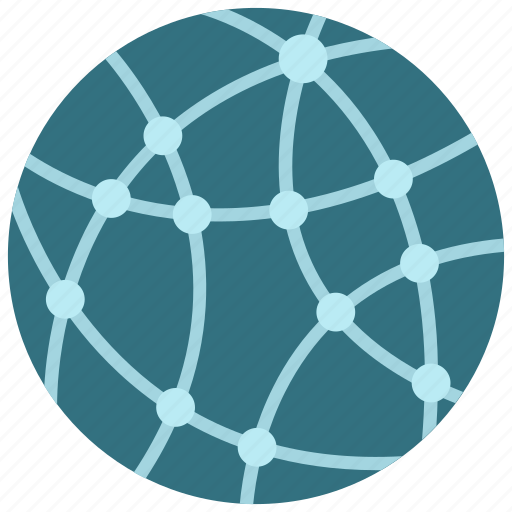 network, online, technology icon