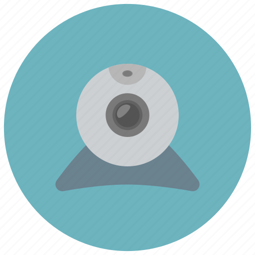 camera, device, technology, webcam icon