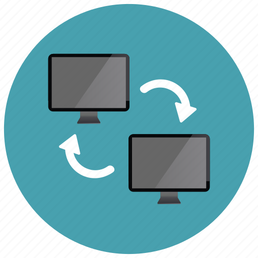 monitor, screen, share, sharing, technology icon