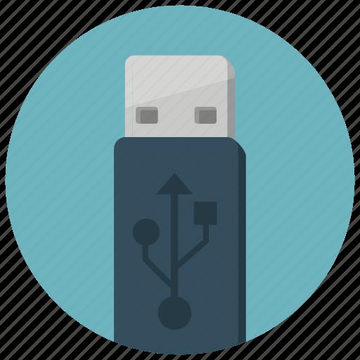 device, save, stick, storage, technology, usb icon