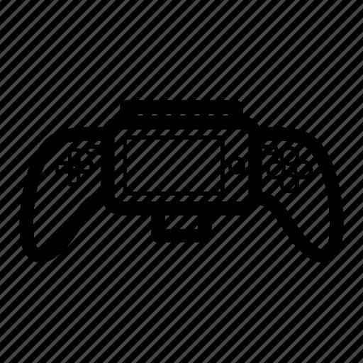 cartoon, entertainment, game, gamepad, play, technology, wireless icon