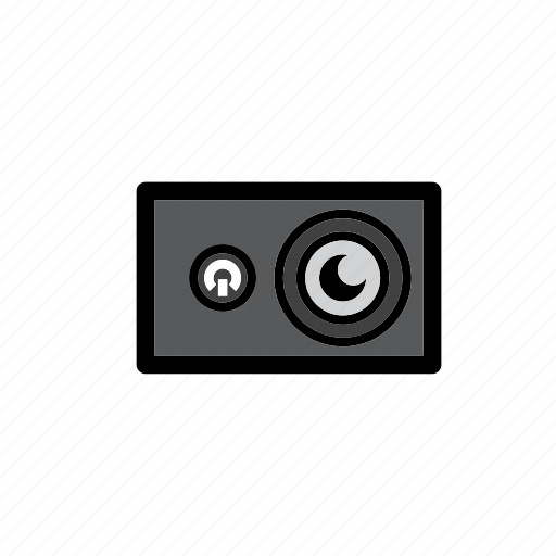 action camera, camera, photo, technology, traveling, video icon