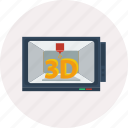 3d, computer, design, modelling, modern, object, technology icon