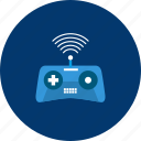 access drone, connect, design, drone remote, modern, object, technology icon