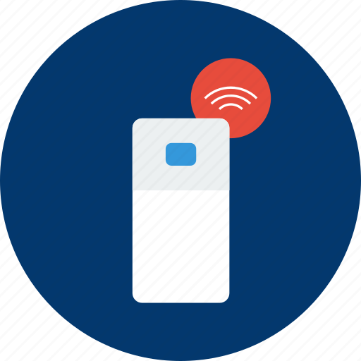 concept, connect, design, fridge, modern, object, technology icon