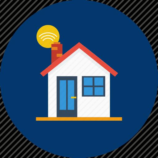 design, home, house, internet, modern, smarthome, technology icon