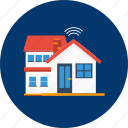 design, home, house, internet, modern, smarthome, technology icon