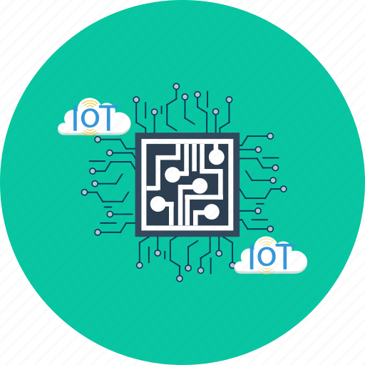 cloud, computer, concept, design, iot, modern, technology icon