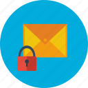 design, mail, message, modern, protection, security, technology icon