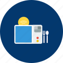 design, electric, modern, object, oven, smart, technology icon