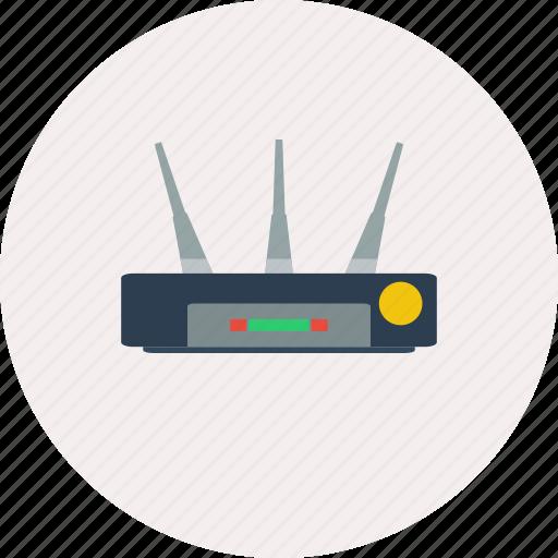 concept, design, internet, modem, modern, router, technology icon