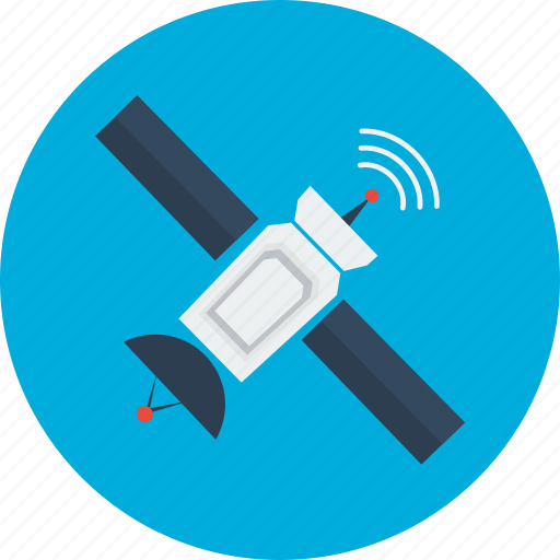 concept, connection, design, modern, object, satellite, technology icon