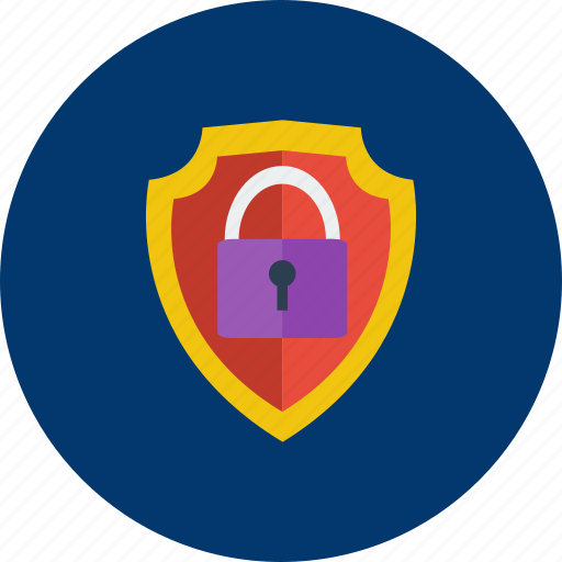 concept, design, locked, modern, protection, security, technology icon