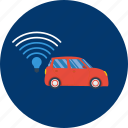 car, design, lifi, modern, smartcar, technology, transport icon