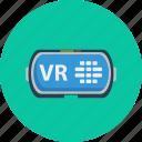 computer, concept, design, modern, technology, virtual reality icon
