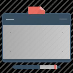 creative, design, draw, graphic, tablet icon
