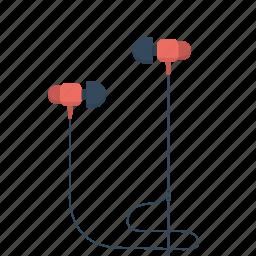 audio, headphones, listen, music, phones, sound icon