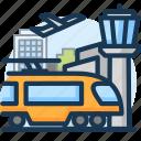 city, departure, railway, tourism, train, travel, vacation icon