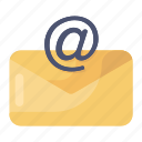 business mail, correspondence, electronic mail, email, envelope icon