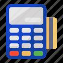 cash till, invoice machine, point of sale, pos, pos terminal icon