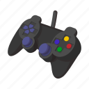 cartoon, computer, console, game, joystick, technology, video icon