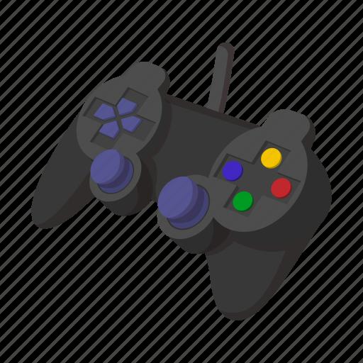 cartoon, computer, console, game, joystick, technology, video icon