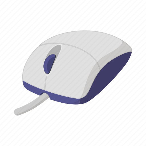 cartoon, computer, device, graphic, input, mouse, pc icon