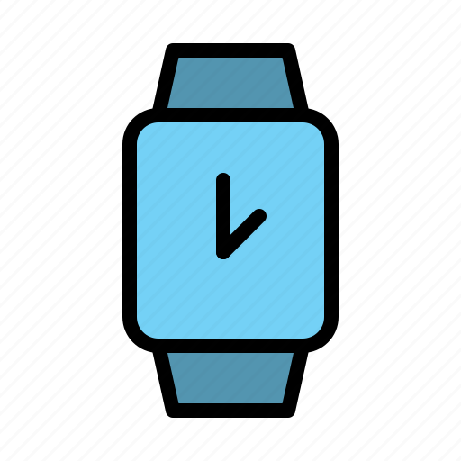 clock, smart, technology, watch icon