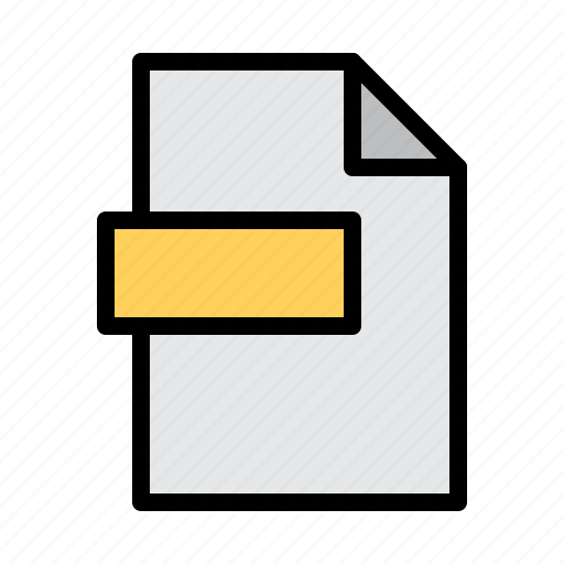 computer, file, technology icon