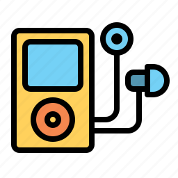 earphone, ipod, music, player, sound, technology icon