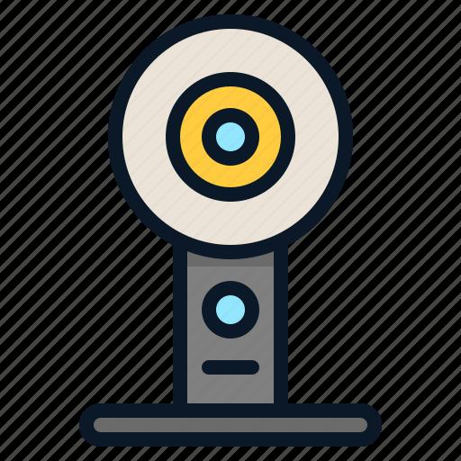 360degree, camera, capture, video icon