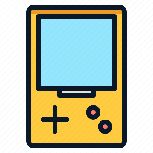 Mobile, game, technology, handheld icon