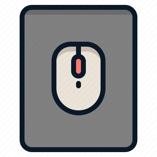 input, mouse, pad, technology icon