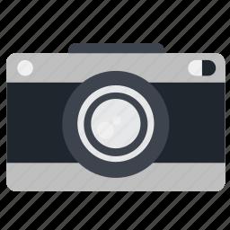 camera, capture, device, lens, minimalistic, mobile, photography, plain, subtle, tech, technology icon