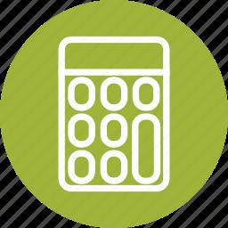 calculate, calculation, calculator, calculator icon, math icon