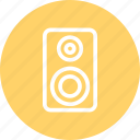 audio, listen, loud speaker, music, speaker icon