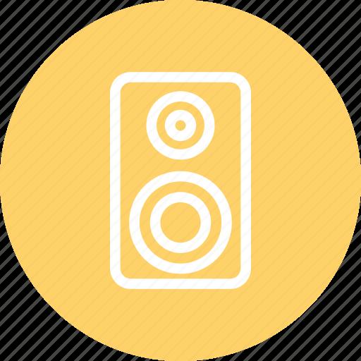 audio, listen, loud speaker, music, speaker icon