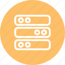 data, data center, data storage, database, server, servers, servers icon icon