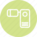 camera, camera icon, footage, video, video camera icon