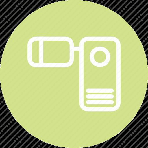camera, camera icon, footage, video, video camera icon