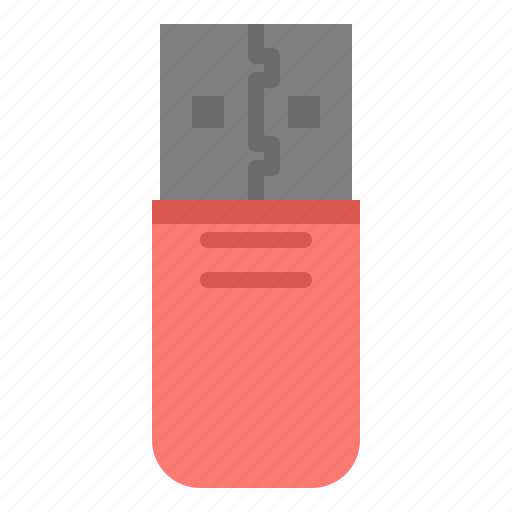 Flashdrive, storage, stick, usb icon