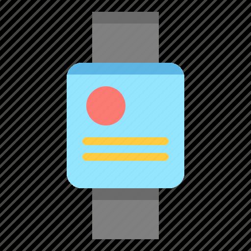 clock, device, gadget, smartwach icon