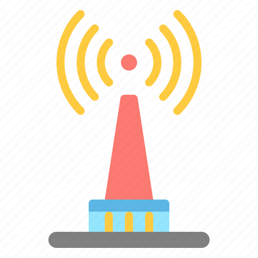 network, signal, tower, transmission icon