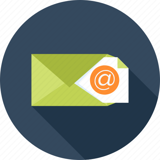 Communication, envelope, letter, address, mail, message, email icon