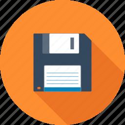 backup, data, disk, diskette, floppy, guardar, save, storage icon