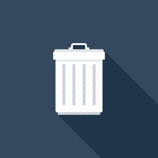 bin, delete, garbage, junk, recycle, remove, trash icon