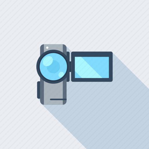 camera, device, film, media, movie, play, video icon