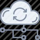 cloud, data, storage, sync, technology