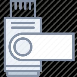 data, drive, flash, stick, technology, usb icon